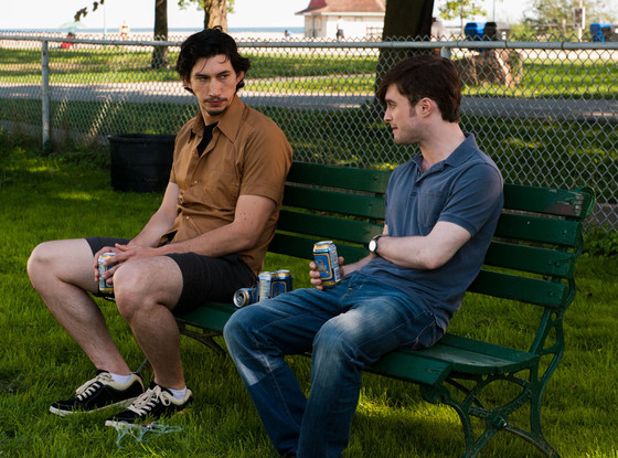What If, Adam Driver, Daniel Radcliffe