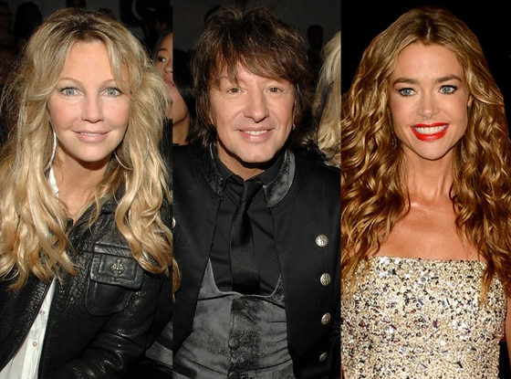 Heather Locklear, Richie Sambora, Denise Richards