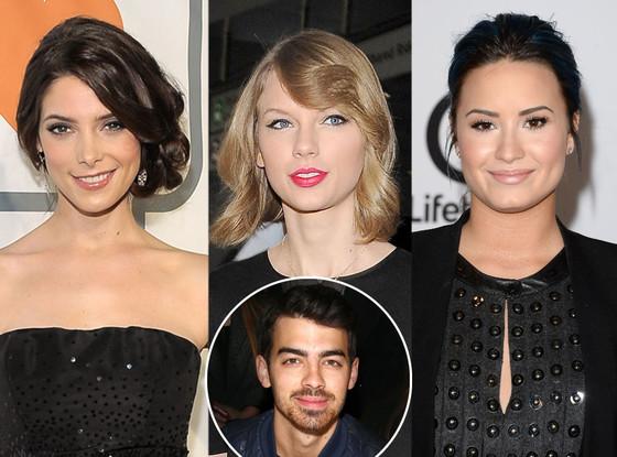 Ashley Greene, Taylor Swift, Joe Jonas, Demi Lovato
