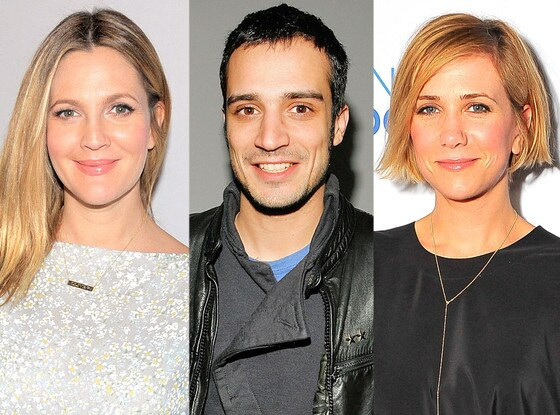 Drew Barrymore, Fabrizio Moretti, Kristen Wiig