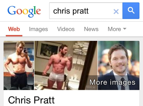 Google Chris Pratt