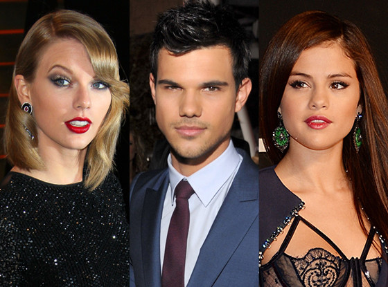 Taylor Swift, Taylor Lautner, Selena Gomez