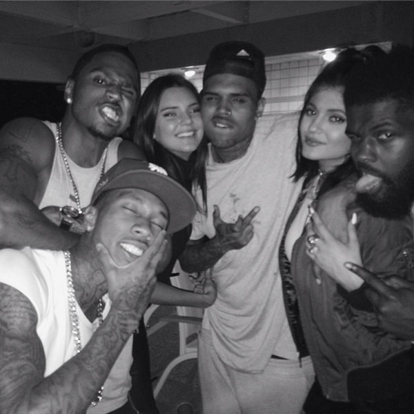 Kylie Jenner, Chris Brown