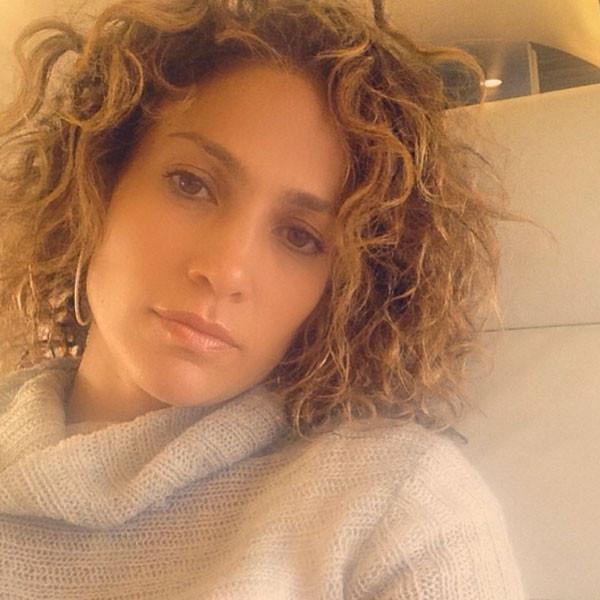 Jennifer Lopez, Curly Hair