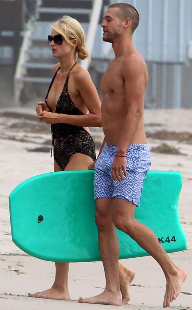Paris Hilton, Josh Upshaw