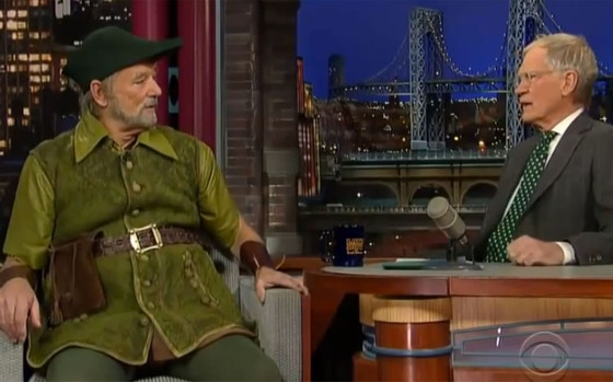 Bill Murray, David Letterman