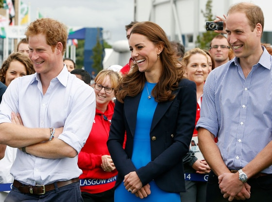 Catherine, Duchess of Cambridge, Kate Middleton, Prince William, Prince Harry