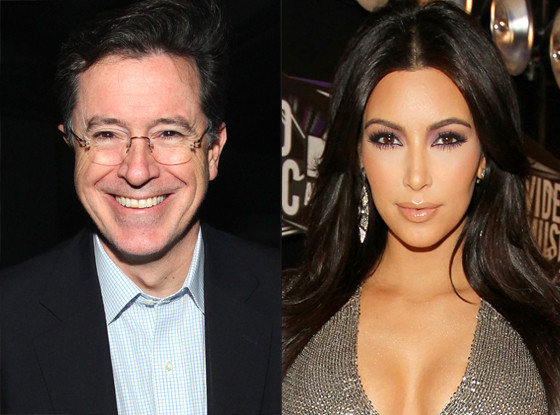 Stephen Colbert, Kim Kardashian