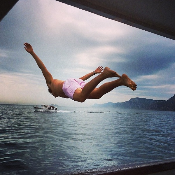 Heidi Klum, Instagram