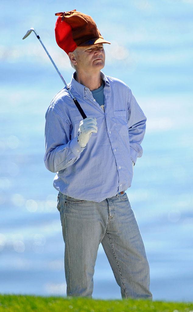 Bill Murray, Celebs Golfing