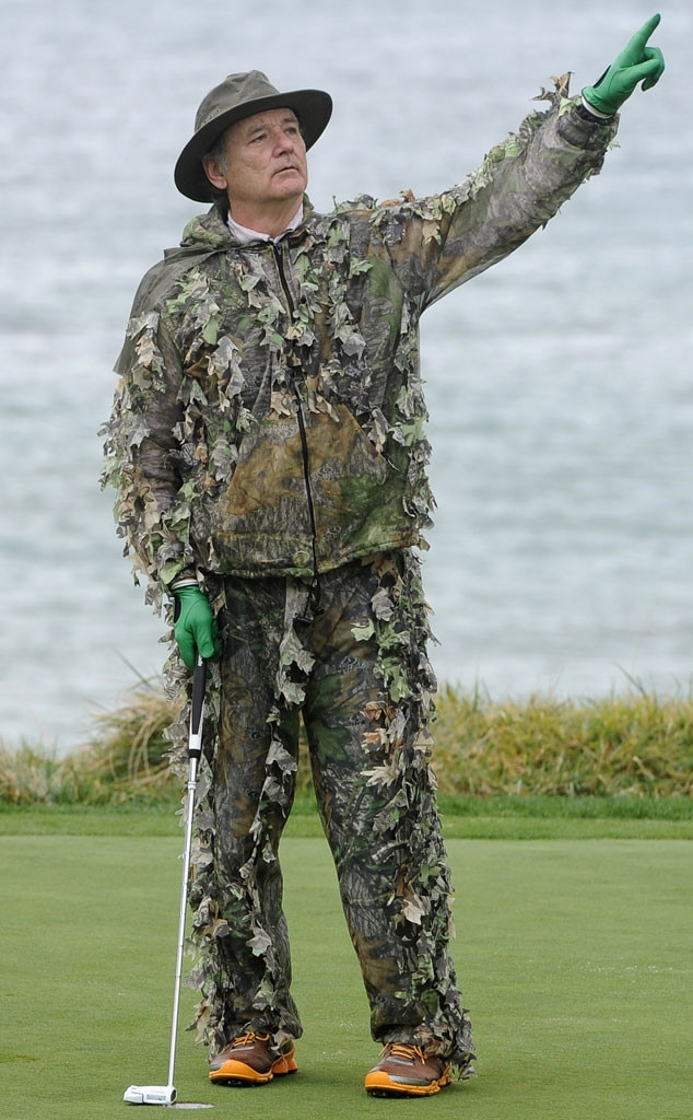 Bill Murray, Celebs Golfing