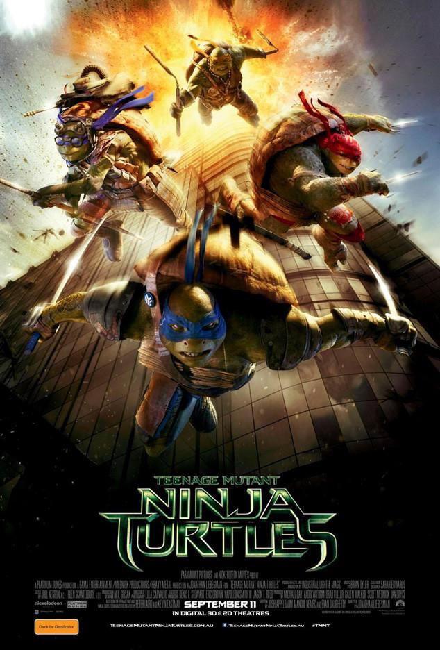 Teenage Mutant Ninja Turtles Poster Australia