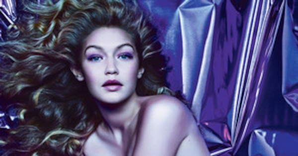Gigi Hadid Gets Completely Naked for Tom Ford Fragrance Ad
