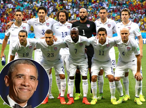 Barack Obama, USA Soccer Team