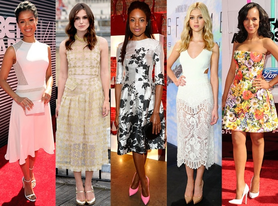 Kerry Washington, Nicola Peltz, Naomie Harris, Gugu Mbatha-Raw,  Keira Knightley