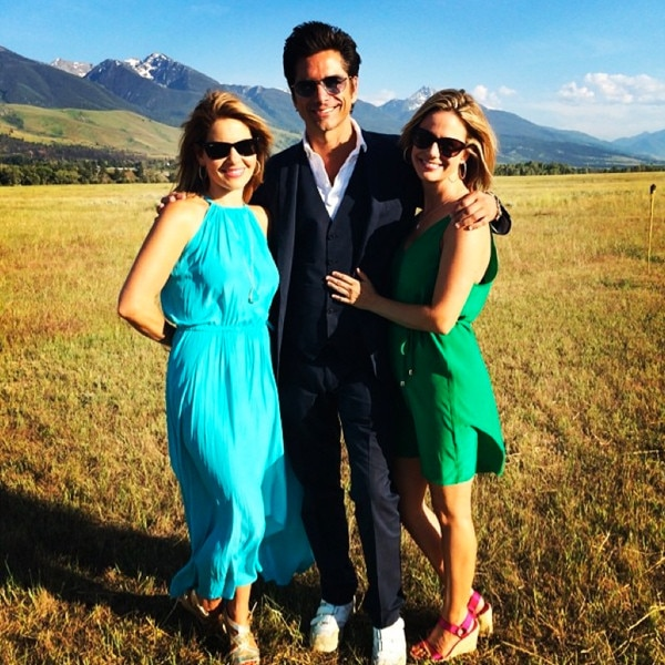 Candace Cameron Bure, John Stamos, Full House Wedding