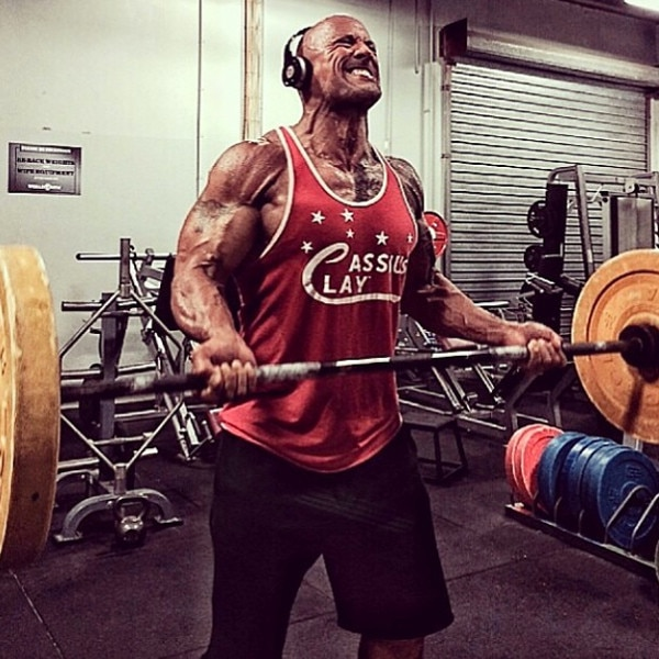 I Joined The Rock's #TeamHercules Challenge and Saw a
