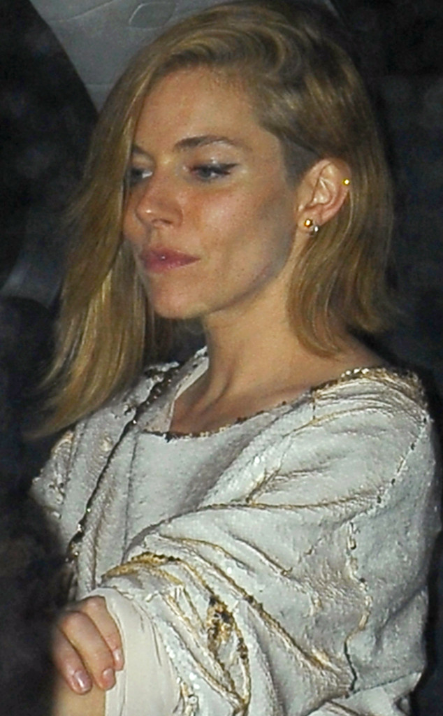 Sienna Miller, Haircut
