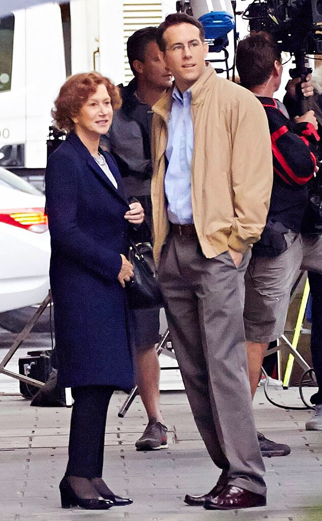 Ryan Reynolds, Helen Mirren