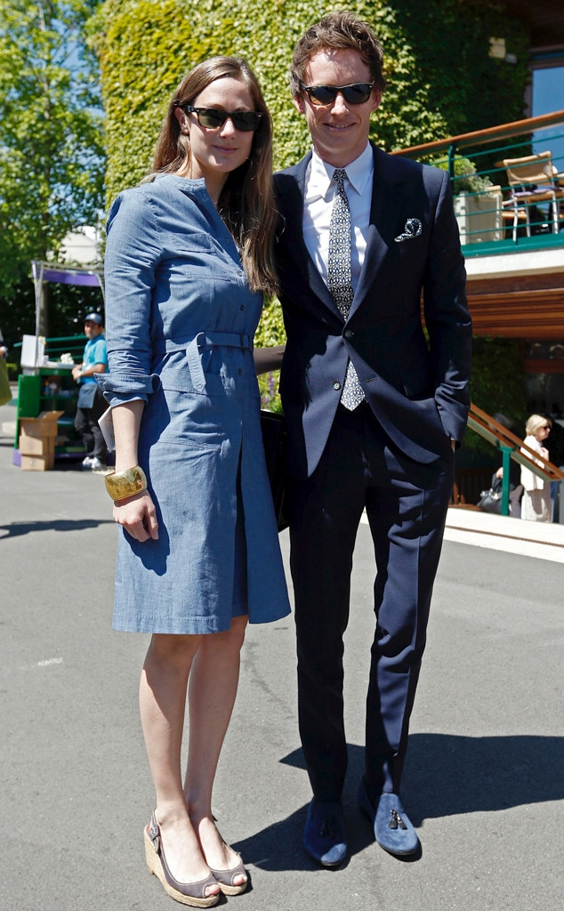 Eddie Redmayne, Hannah Bagshawe, Wimbledon