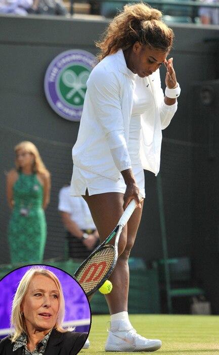 Serena Williams, Martina Navratilova