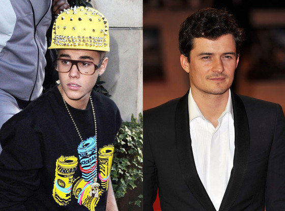 Justin Bieber, Orlando Bloom, Outfits
