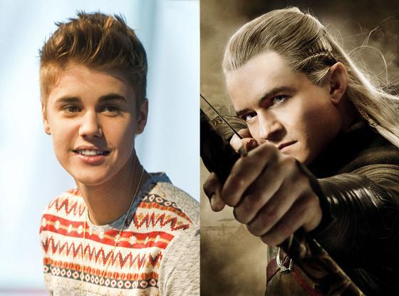 Justin Bieber, Orlando Bloom, Arrow