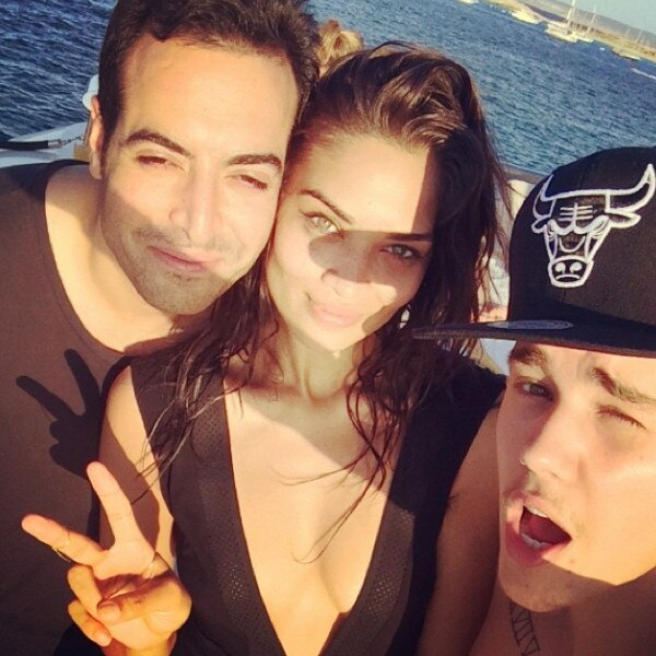 Justin Bieber,Shanina Shaik, Instagram