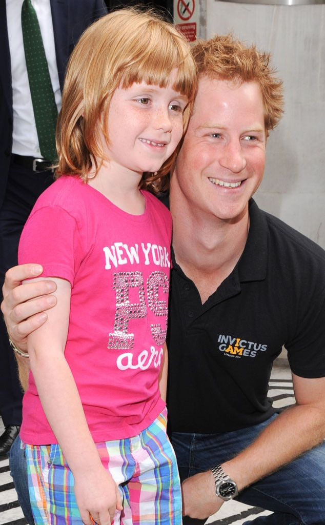 Prince Harry, Olivia Hanhock
