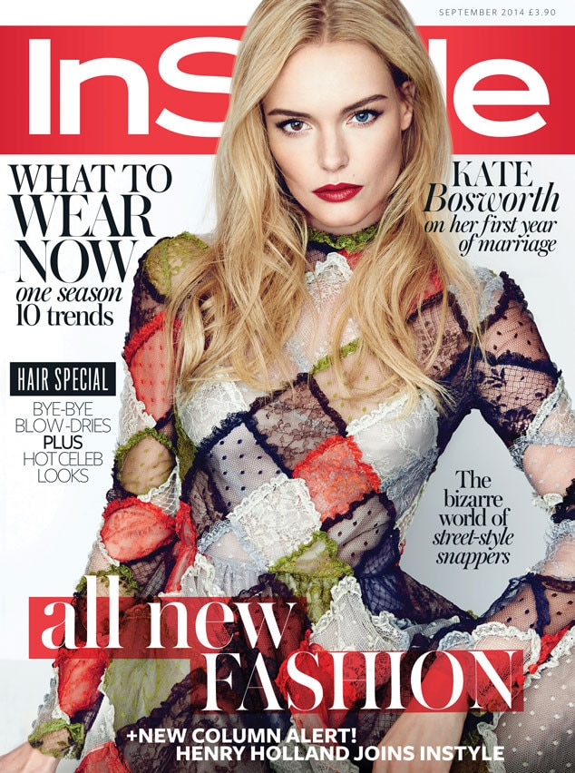 Kate Bosworth, InStyle UK