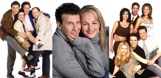 Mad About You, Seinfeld, Friends