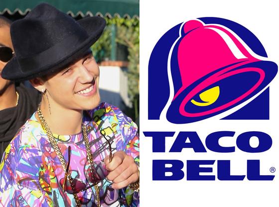 Justin Bieber, Taco Bell