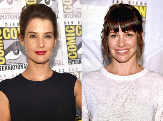 Cobie Smulders, Evangeline Lilly, Comic-Con