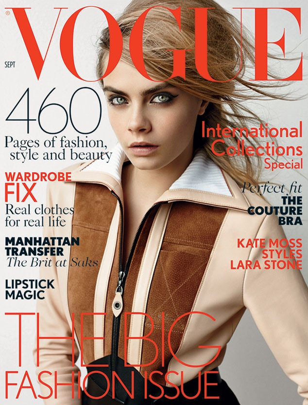 Cara Delevingne, British Vogue