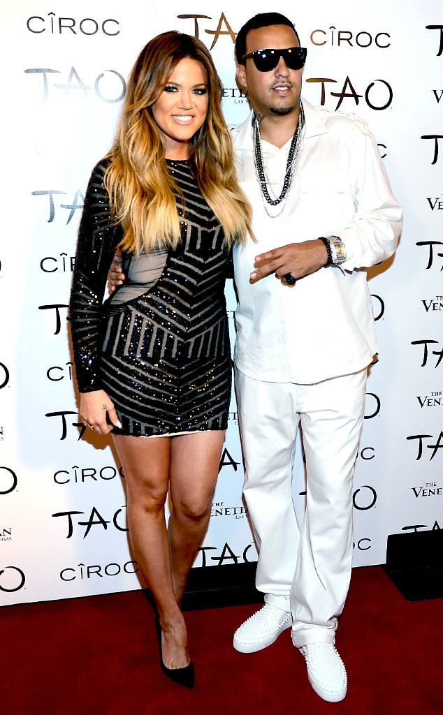 Khloe Kardashian and James Harden have split; she hits the town with ex French Montana