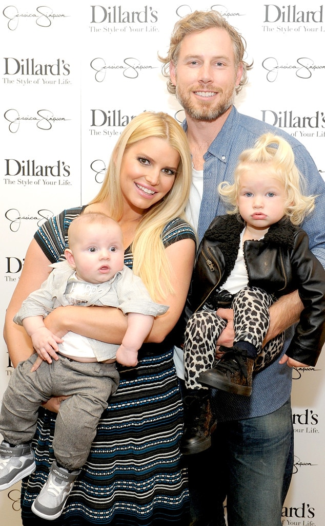 Ace Johnson, Jessica Simpson, Eric Johnson, Maxwell Johnson