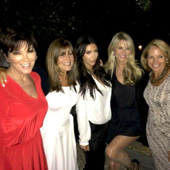 Kim Kardashian, Kris Jenner, Katie Couric, Christie Brinkley