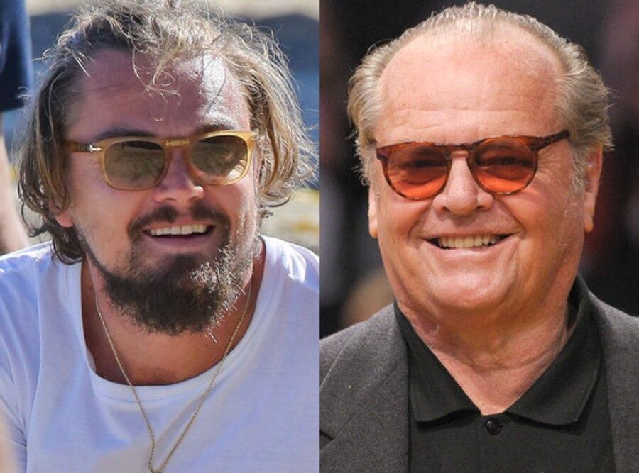 Leonardo Dicaprio, Jack Nicholson