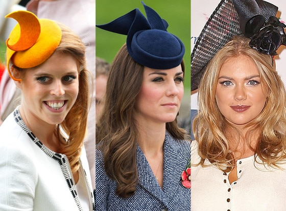 Fascinators, Princess Beatrice, Kate Middleton, Kate Upton