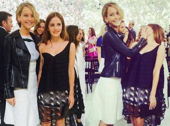 Emma Watson, Jennifer Lawrence Twitter