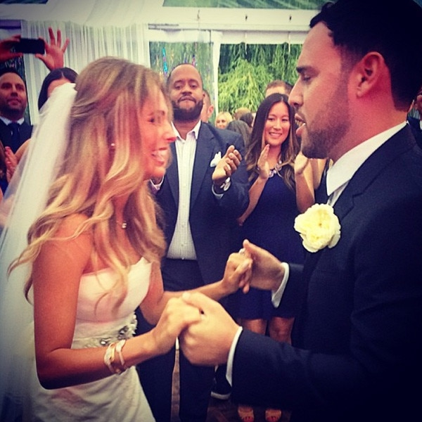 Scooter Braun Wedding Instagram