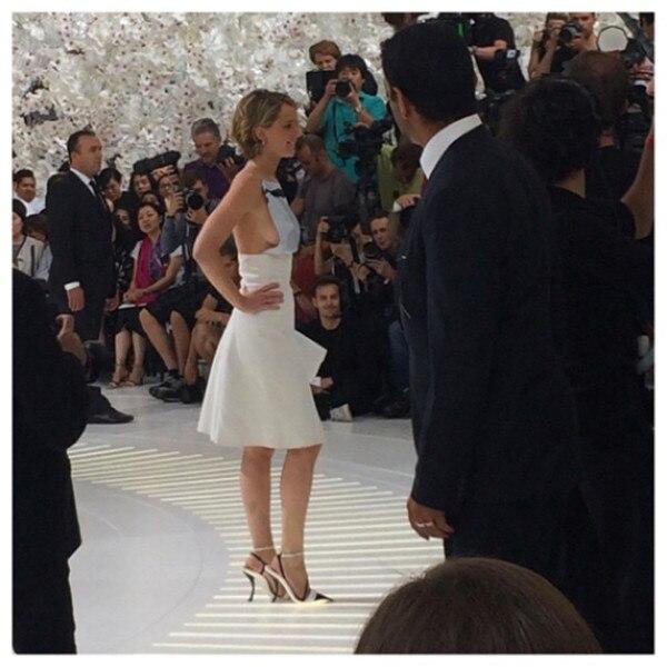 Jennifer Lawrence, Instagram, Dior