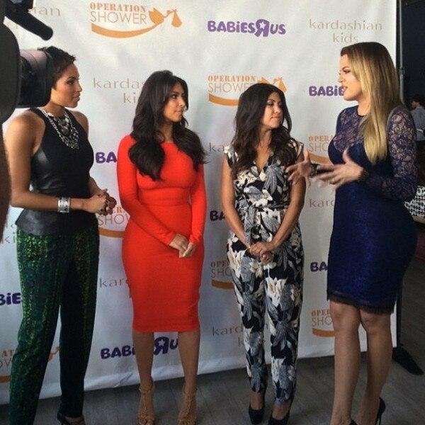 Khloe Kardashian, Kim Kardashian, Alicia Quarles, Kourtney Kardashian