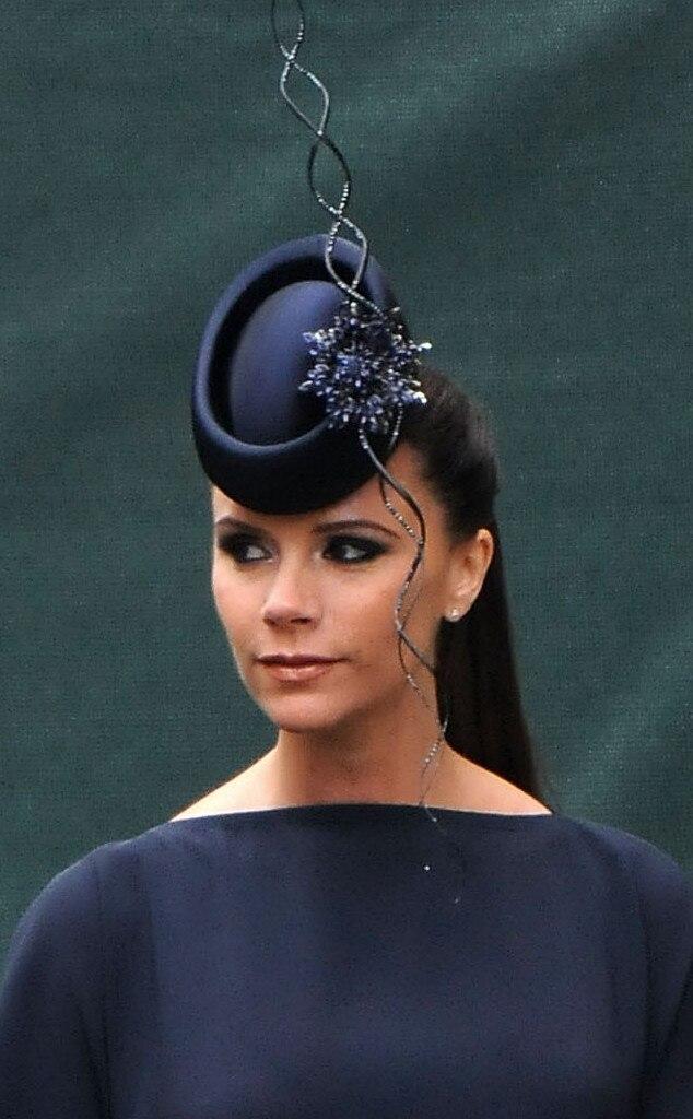 Victoria Beckham, Fascinator