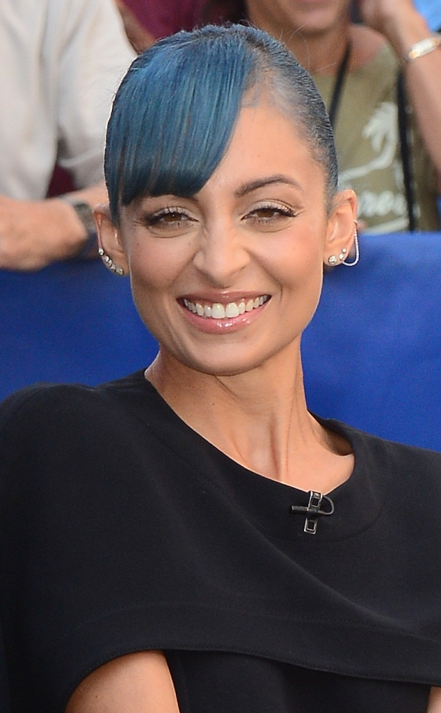 Nicole Richie, Blue Hair