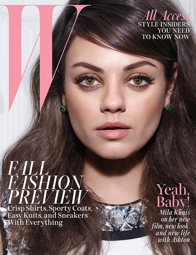 Mila Kunis, W Magazine