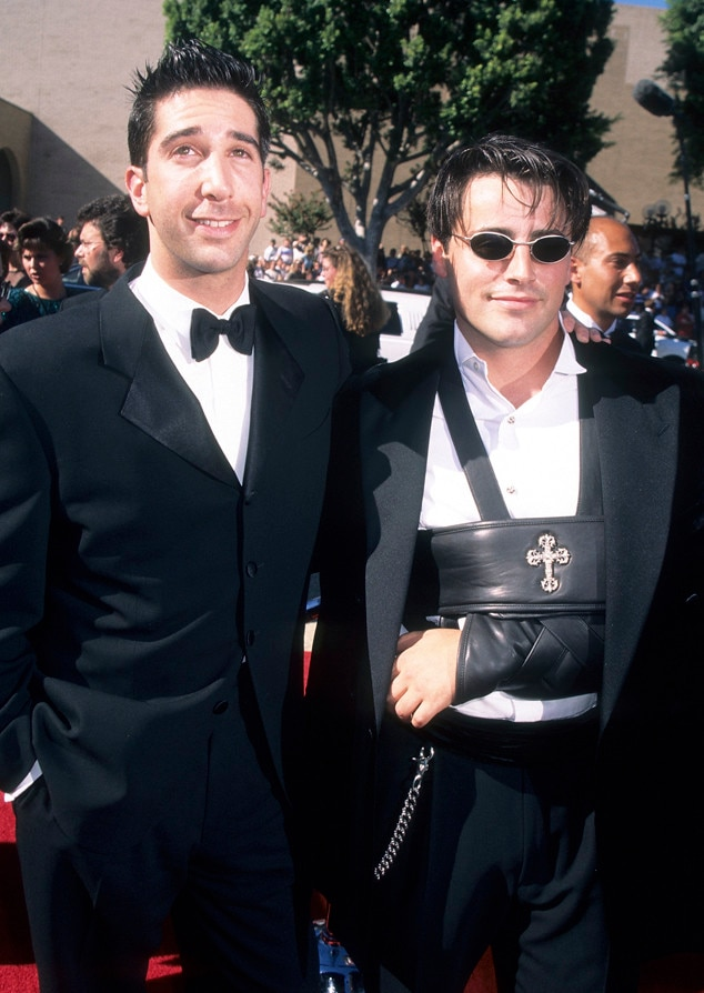 My First Emmys, David Schwimmer, Matt LeBlanc