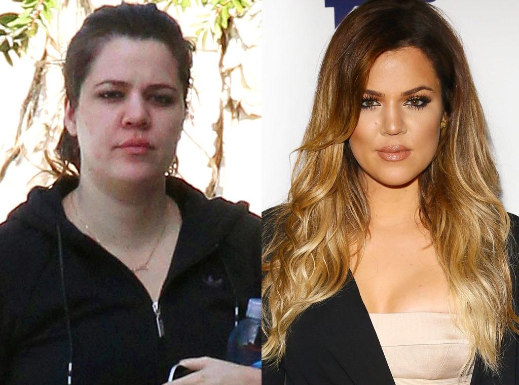 Khloe Kardashian, No Makeup