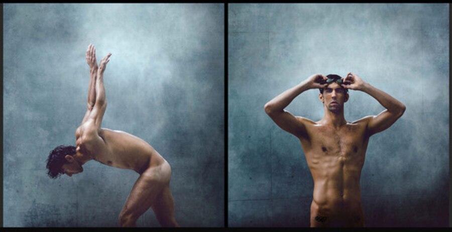 Michael Phelps, ESPN The Magazine, Body Issue