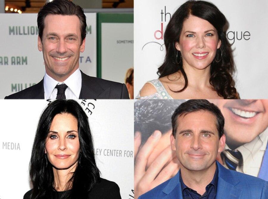 Steve Carell, Courteney Cox, Lauren Graham, Jon Hamm, Emmys